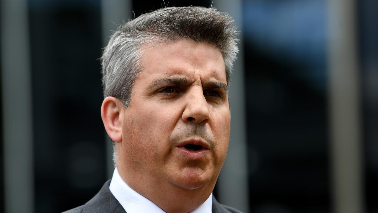 Chief executive Giles Thompson says Racing Victoria will continue its push to reduce whip use in races. Picture: AAP