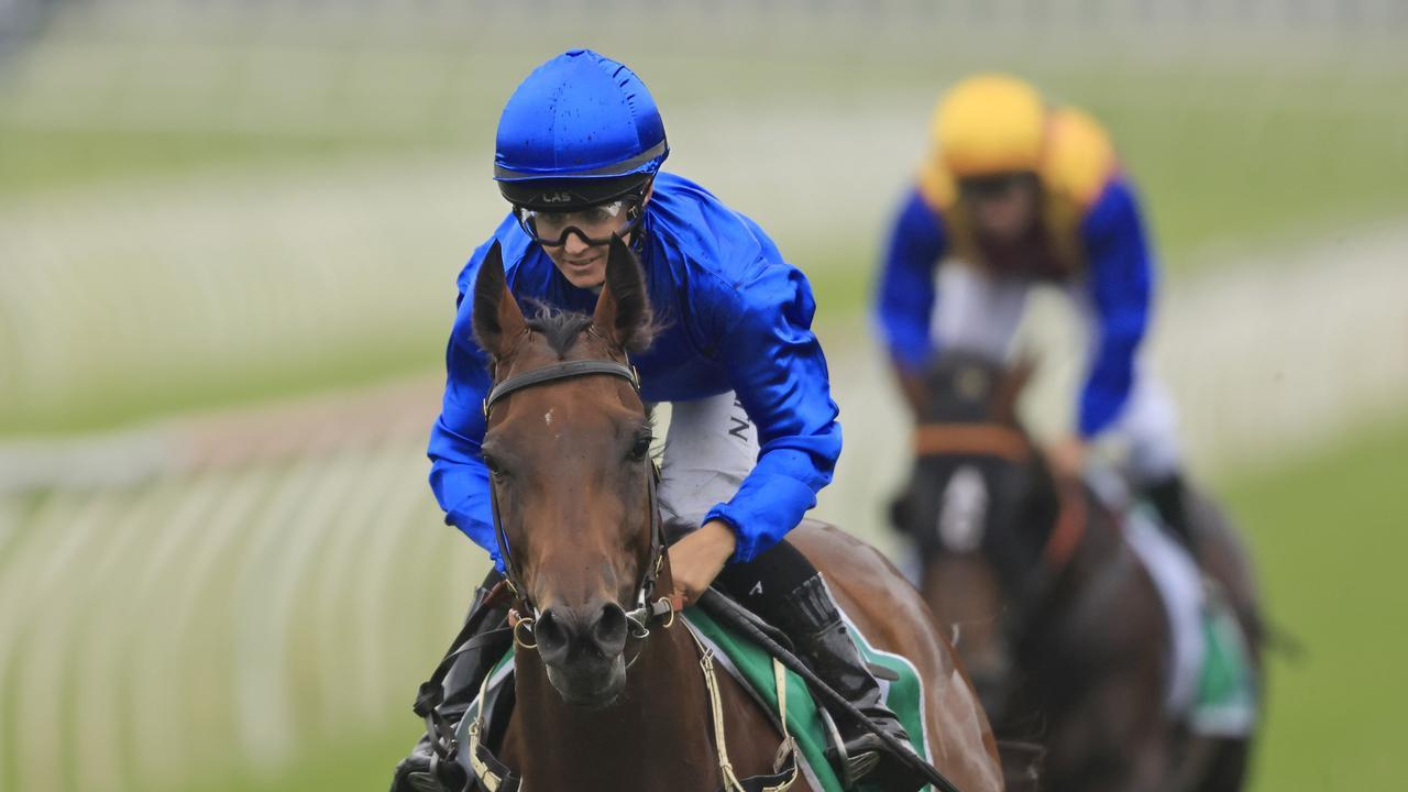 Colette runs in the Queen Of The Turf Stakes. Photo: Mark Evans/Getty Images