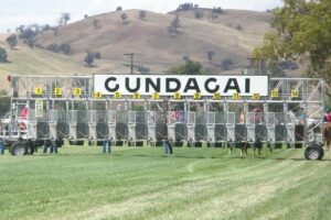 It's Cup Day at Gundagai