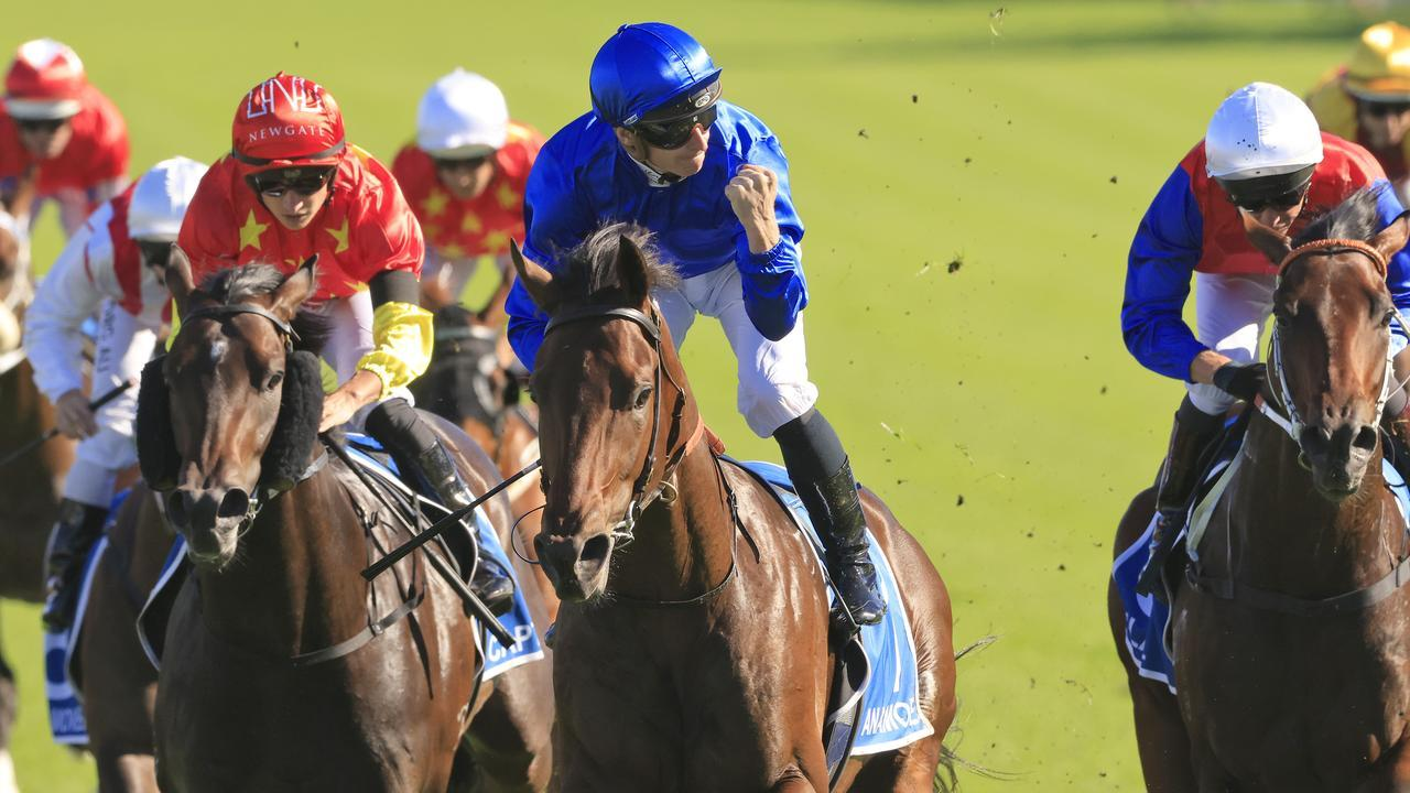 Anamoe scored a well-deserved Group 1 in the Sires' Produce Stakes at Randwick. Picture: Getty Images