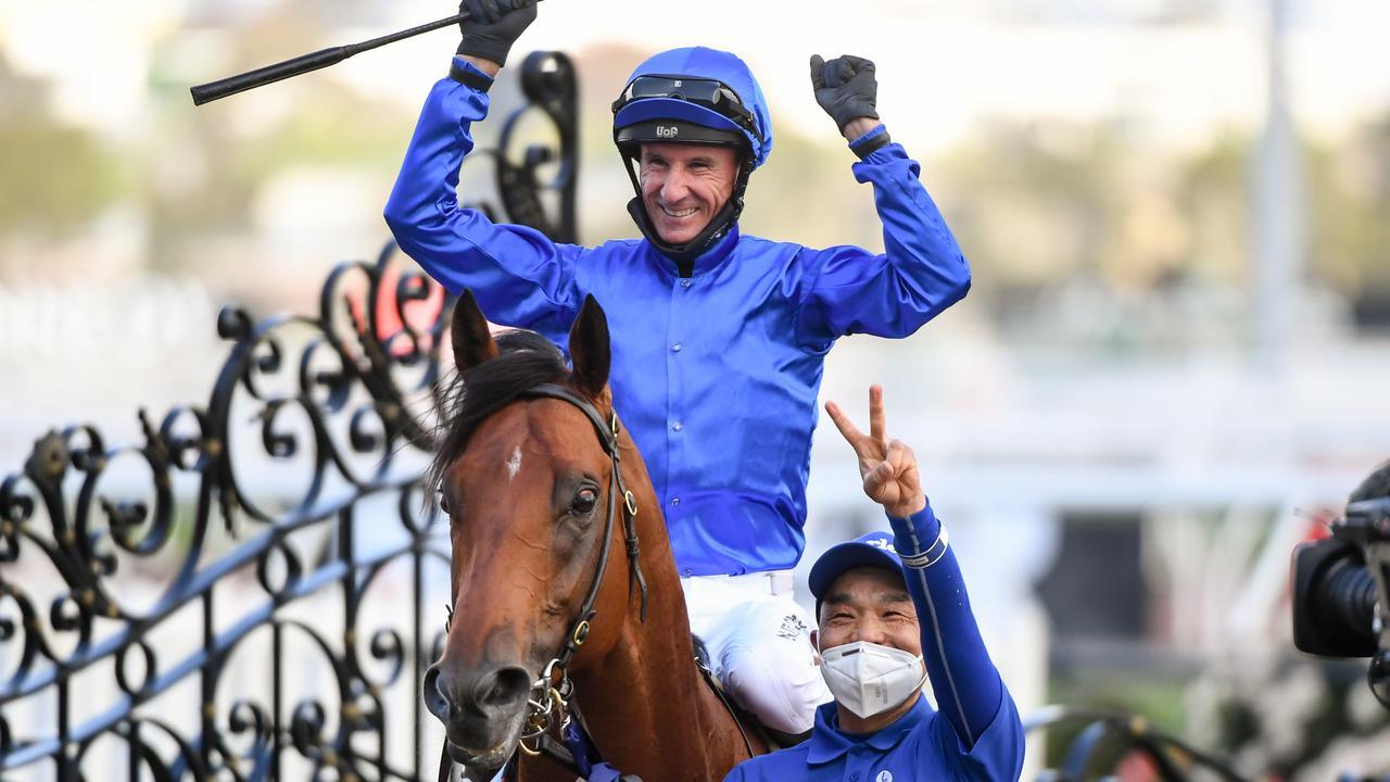Glen Boss has been from Bivouac for the T.J. Smith Stakes. Picture: Racing Photos via Getty Images