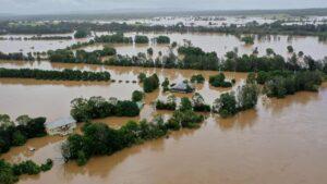 Flooding on the mid-North Coast. Photo: Luke Bullus