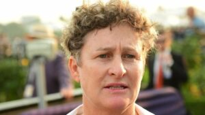 Donna Scott trains our standout bet at Wagga. Photo: Vince Caligiuri/AAP Image