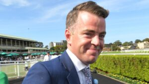 Trainer Jamie Richards is eyeing another big-race win with Probabeel in the All-Star Mile. Picture: AAP