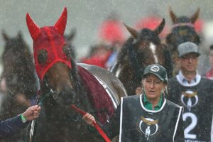 Hoping for similar conditions heading into Saturday at Rosehill.