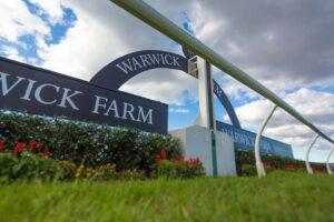 Warwick Farm was called off last week.