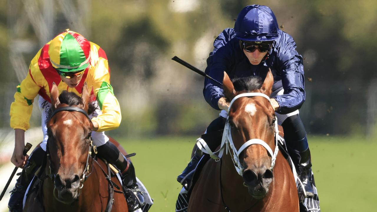 Home Affairs secured his spot in the Golden Slipper with victory in the Silver Slipper. Picture: Getty Images