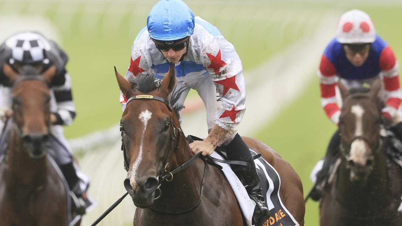 Stay Inside blew his opposition away in the Pierro Plate. Picture: Getty Images