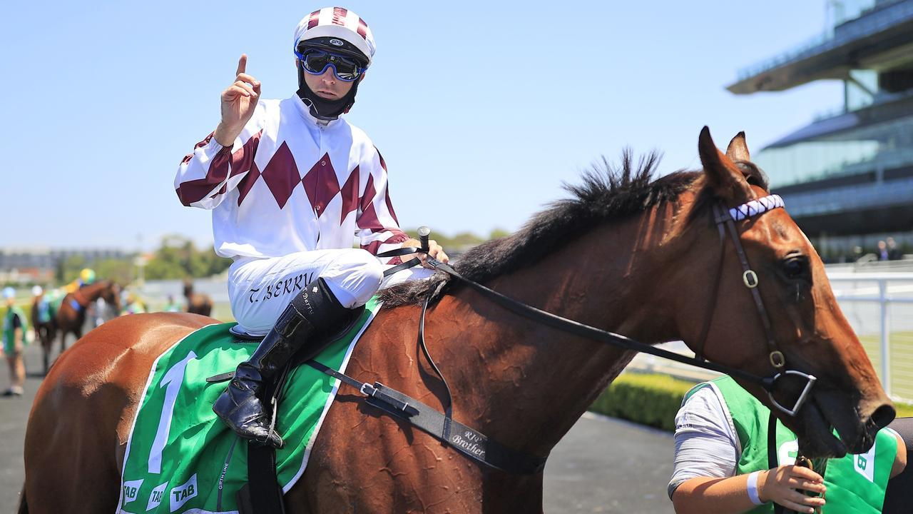 Tommy Berry has a great chance of winning on Art Cadeau at Goulburn.