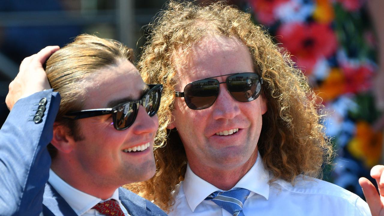 David Eustace and Ciaron Maher run one of Australia's biggest training operations. Picture: Getty Images