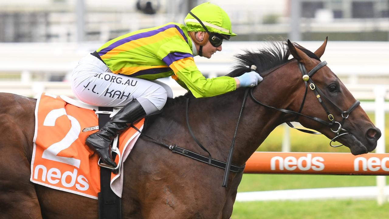 Jamie Kah continued her winning form at Caulfield on Australia Day. Picture: Getty Images