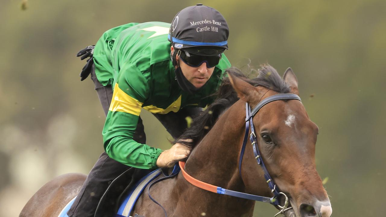 Tommy Berry will ride Ole Kirk in the Expressway Stakes. Photo: Mark Evans/Getty Images