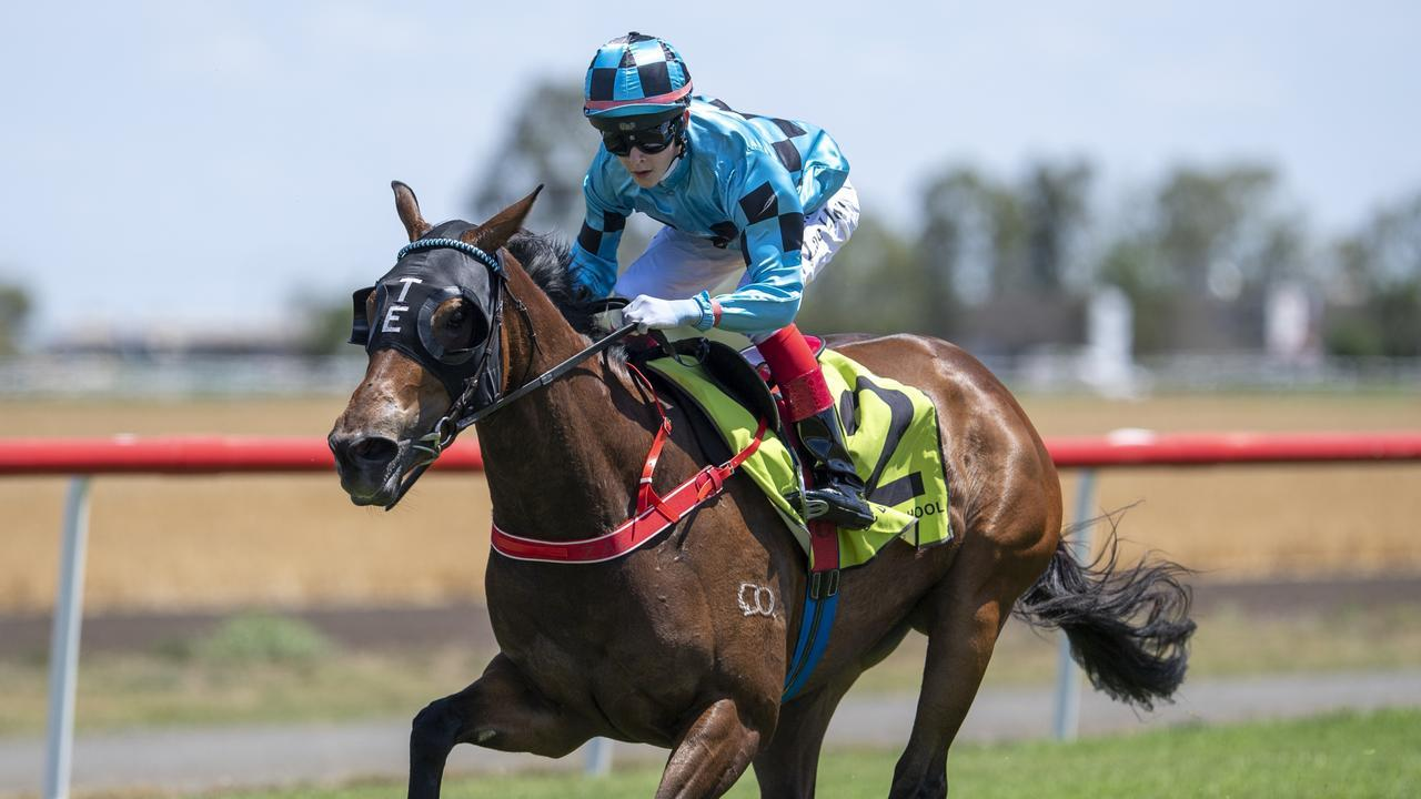 Zac Lloyd wins on Satine in his very first ride. Picture: Michael McInally