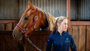 A special moment looms for jockey Maggie Collett