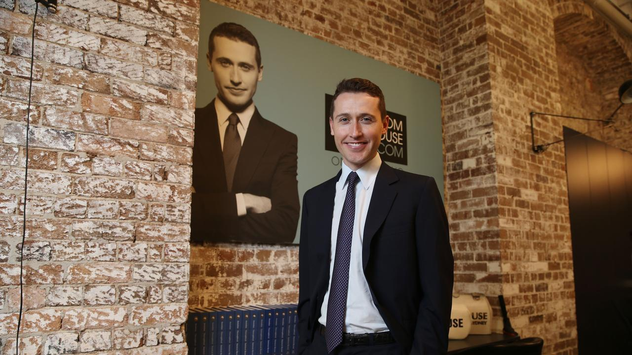 Australian bookmaking royalty Tom Waterhouse at his offices in Sydney. Britta Campion/The Australian