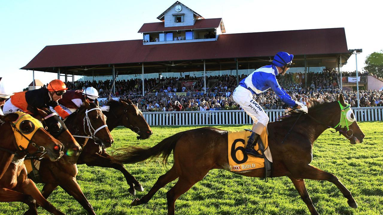 Wagga will host an eight-race card on Friday. Picture: Mark Evans