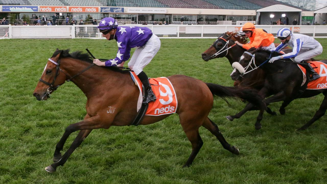 Chapada gains a start in next Saturday's Caulfield Cup by winning the Group 2 Herbert Power Stakes.