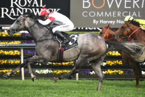 Classique Legend was air born winning the Group 2 The Shorts.