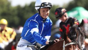 Leah Kilner will be chasing back-to-back wins on Belle Reve at Coffs Harbour. Picture: Jason O'Brien