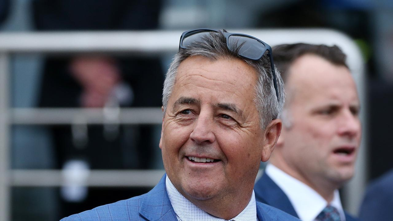Trainer Lindsey Smith says he has been left with egg on his face over Humidor. Picture: AAP/George Salpigtidis