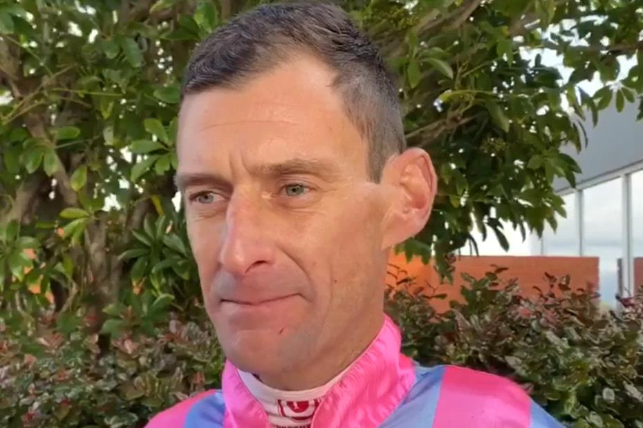 WA jockey Damian Miller was diagnosed with a form of bone cancer last month.