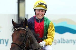 Kyra Yuill has surged into fifth spot in the Australian jockeys' premiership.