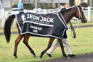 Keepsakes like Sixties Groove's Grafton Cup rug are now being auctioned among owners.