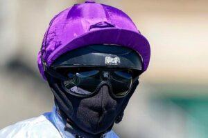 Victorian jockeys could soon be wearing face masks while on horseback.