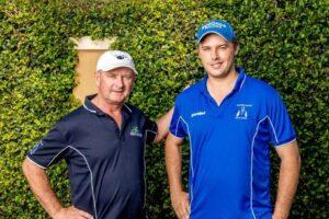 Training partners Toby and Trent Edmonds won the 2020 Stradbroke Handicap with Tyzone.