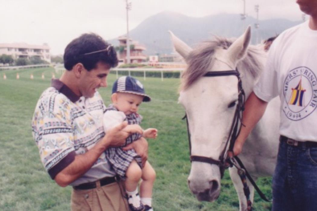 A young Taylor Marshall with his Dad John.