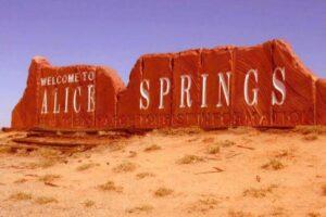 We've got one at Pioneer Park in Alice Springs.