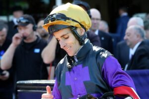 Jockey Jamie Mott rode a winner at his first ride back from a long injury layoff.