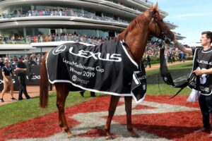 Vow And Declare could tackle another Flemington staying feature next month.