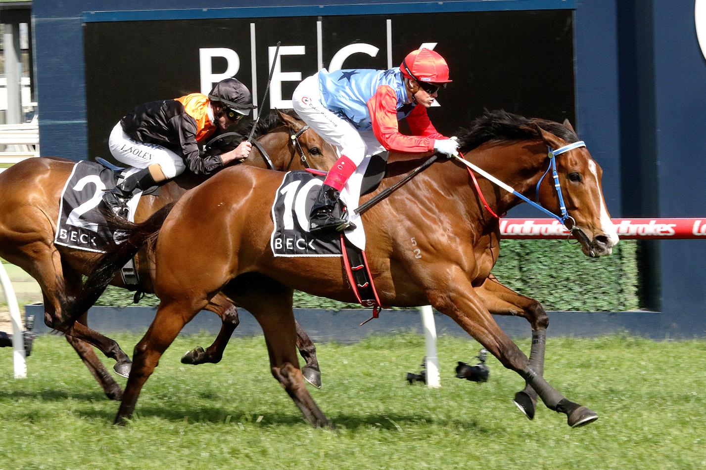 Admiral's Joker wins at Caulfield.
