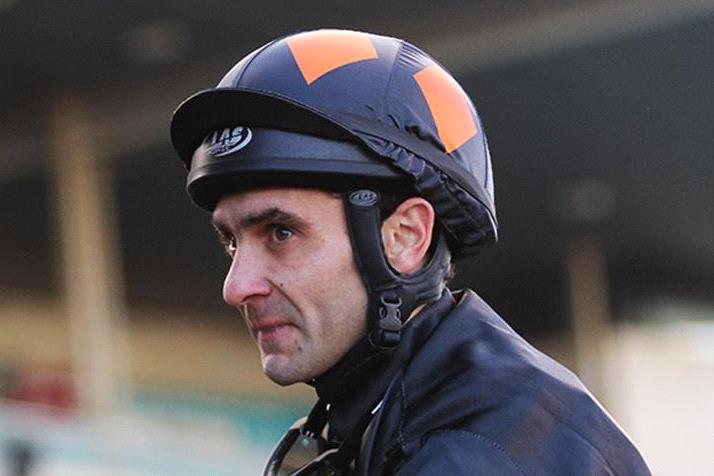 David Pires was thrilled to win the Tasmanian Derby on Vamos Raffa.