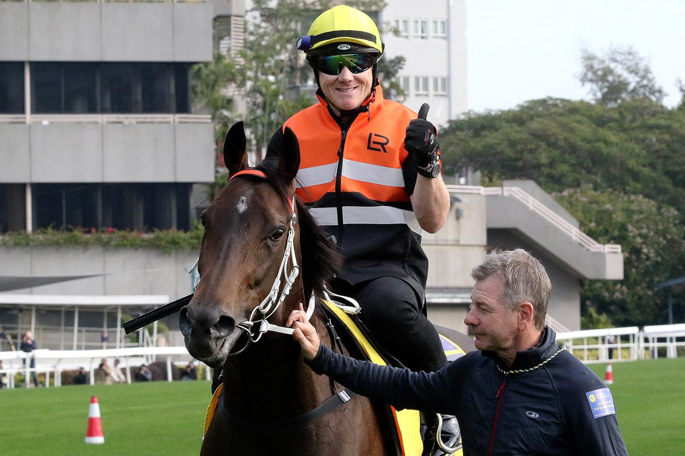In Her Time on Thursday at Sha Tin.