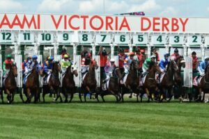 The Victoria Derby is the end spring goal for Shadow Hero.