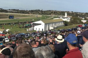 A huge crowd of Warrnambool diehards scaled The Hill to watch the Grand Annual.