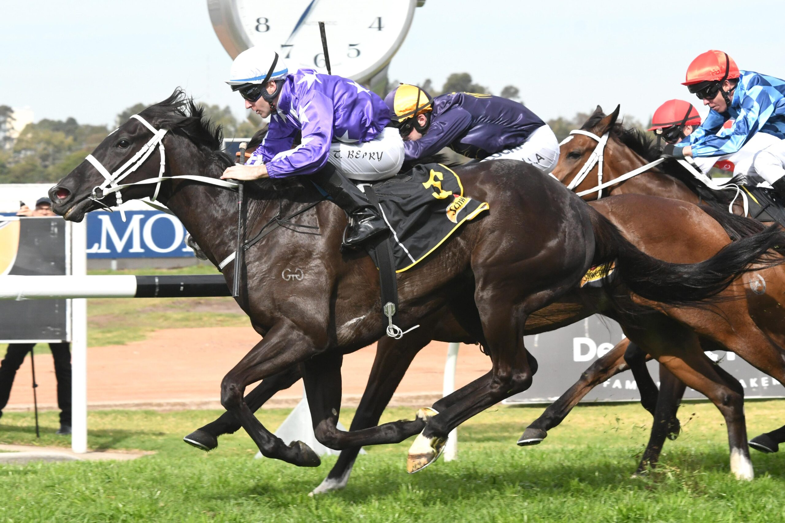 I'm confident of this mare's chances in the eighth event at Randwick.