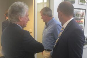 Darren Weir arrives at the RAD Board to learn his fate.