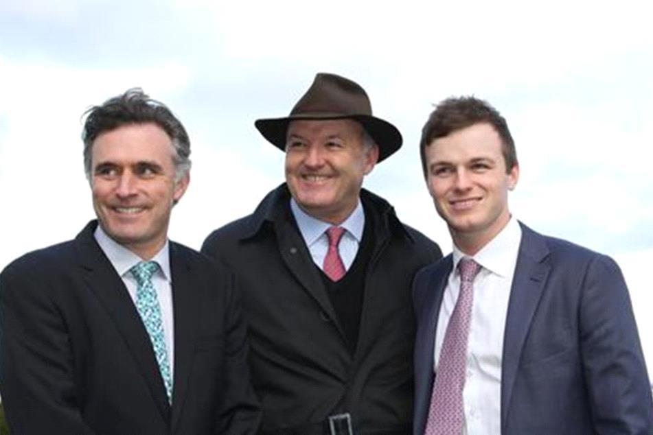 The training team of David Hayes