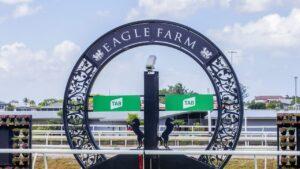 Eagle Farm racetrack. Photo: AAP /Richard Walker