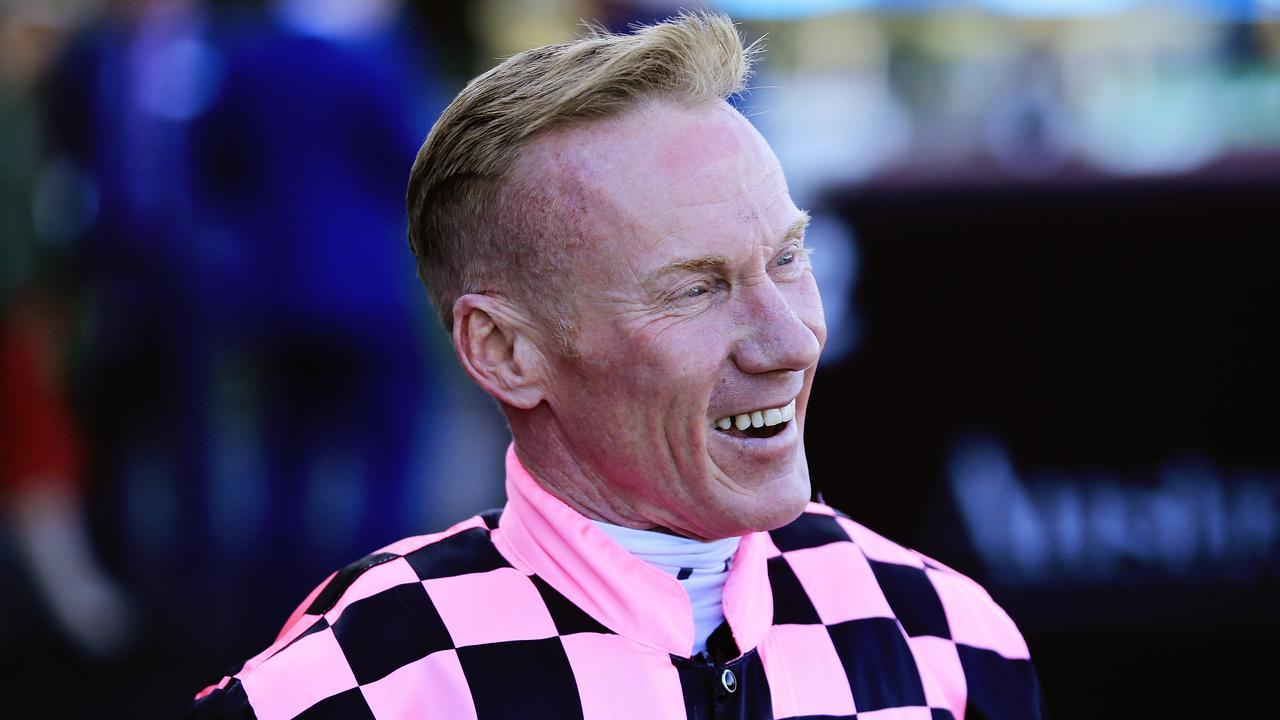 Jockey Jim Byrne after riding in Sydney. Photo: Mark Evans/Getty Images.
