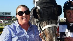 Trainer Darleen Duryea suffered serious injuries after a trackwork fall. Picture: Trackside Photography