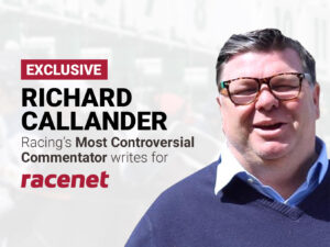 Richard Callander writes for Racenet weekly.