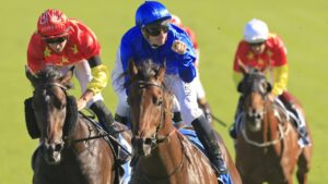 Godolphin star Anamoe is back in work. Photo: Mark Evans/Getty Images