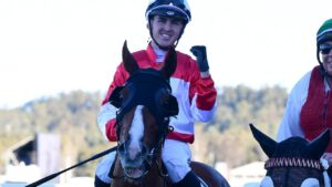 Ben Thompson will have his first ride for Goldolphin in a Group 1 in the Tatt's Tiara on Saturday. Picture: Trackside Photography