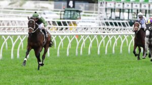 It was Incentivise and daylight again in the Group 3 Tattersall's Cup at Eagle Farm. Picture: Trackside Photography