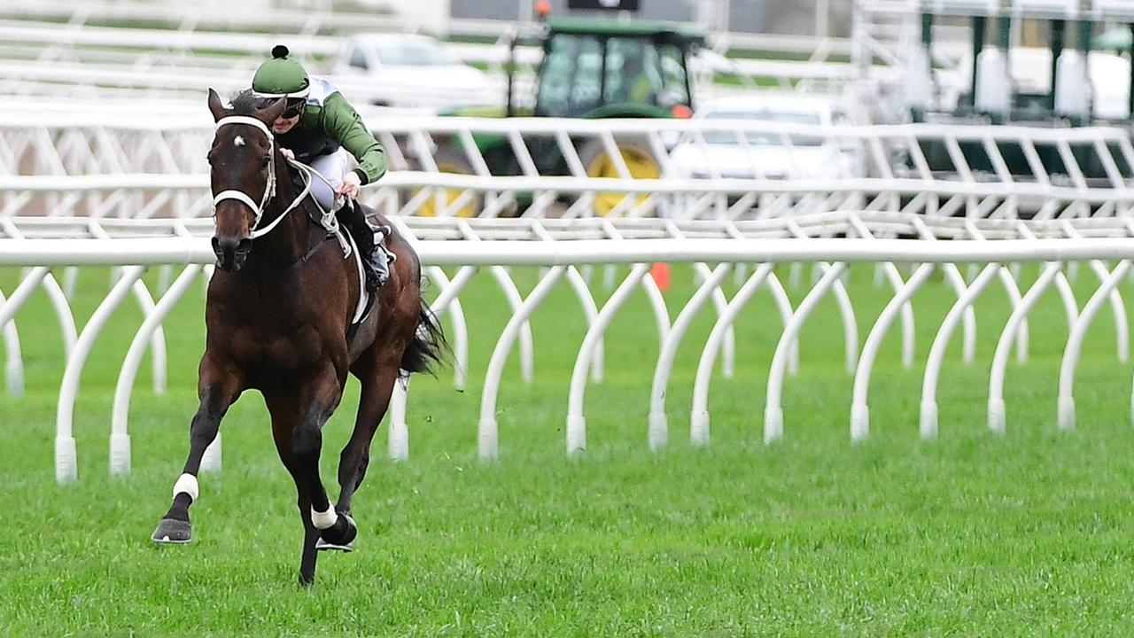 Incentivise wins the Group 3 Tattersall's Cup at Eagle Farm. Picture: Grant Peters–Trackside Photography,