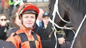 Blaike McDougall, after riding a winner for Chris Waller at Rosehill, is looking forward to the Grafton carnival. Picture: AAP